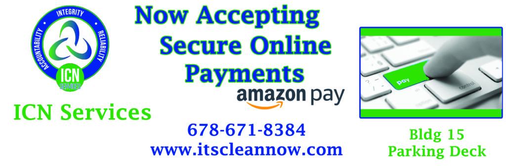 online payment announcement copy